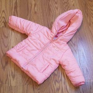 Zybaby salmon colored jacket 6-9mo